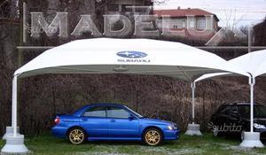 Carport metallico ricovero auto con copertura posot class for Subito udine auto
