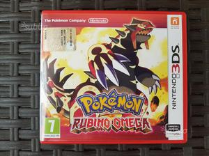 Gioco originale pokemon rubino omega per nintendo