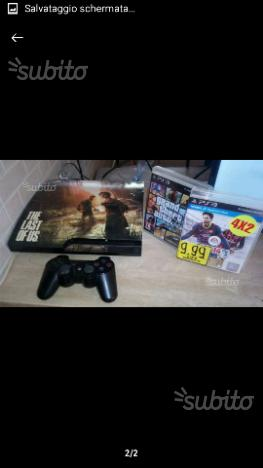 PlayStation 3 slim 320 giga