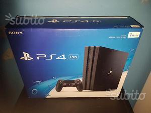 Playstation 4 pro nuova