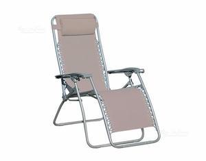 Sedia poltrona sdraio reclinabile 5 posizioni posot class - Posizioni nuove a letto ...