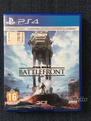 Star Wars Battlefront Playstation 4 PS4