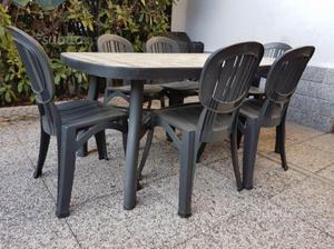 Nardi Sedie In Plastica.Tavolo Nardi Ottagonale Posot Class