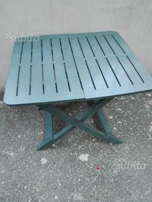 Tavolo+sedie da giardino