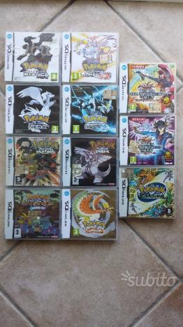 Titoli Pokémon per Nintendo DS e 3DS