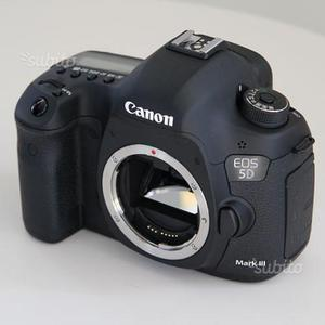 Canon eos 5d mark iii body nuova