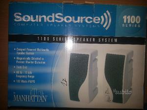 Casse audio per pc nuove mai usate
