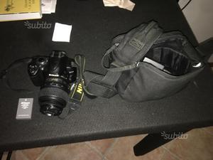 Nikon d  con obbiettivo nikon  mm