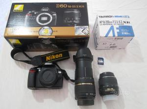 Nikon d60 kit completo