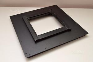 """Sinar dorso adattatore banco ottico 8x10"""" al 4x5"""""""