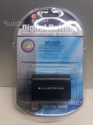 Batteria Hi-Quality x Sony Handycam NP-FH70 NUOVA