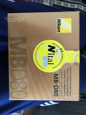 Battery pack MB-D80 - Nikon