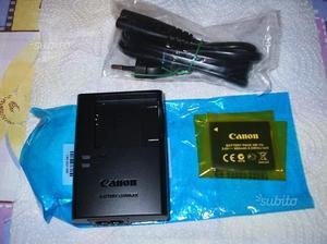 CARIC. + batteria X MACCHINA FOTOGRAFICA CANON