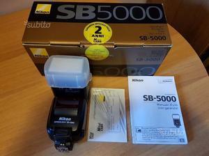 Flash Nikon sb- Nital in garanzia