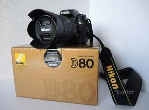 Nikon D80 completa di obiettivo +MB-D80