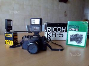 Ricoh KR-5 funzionante