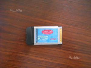 Adattatore Firewire per notebook (PCMCIA)