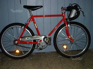 Bici corsa bimbo epoca 70