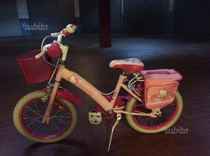 Bicicletta hello kitty da bambina