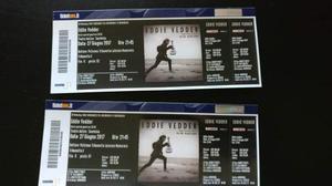Biglietti Eddie Vedder Taormina 27 Giugno