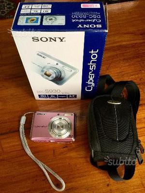 Fotocamera digitale Sony cyber shot dsc s930