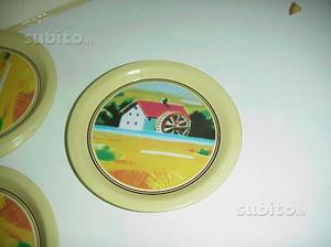 Lotto piattini mulino bianco sorpresine piatti