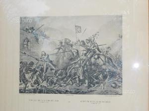 N.5 Incisione di KARL JAUSLIN cm.43xcm32-ANNI '50