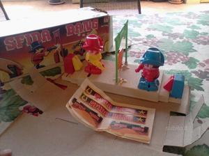 Sfida bang gioco da tavolo giocattolo vintage 80