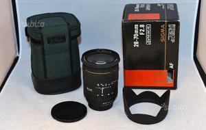 Sigma attacco Nikon AF D EX asferico