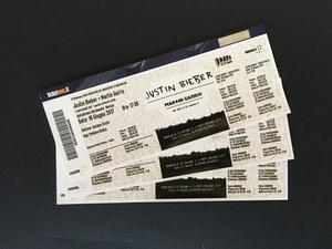 Biglietti JUSTIN BIEBER + MARTIN GARRIX Golden Circle