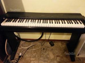 Tastiera technics 76 tasti con sgabello nero posot class