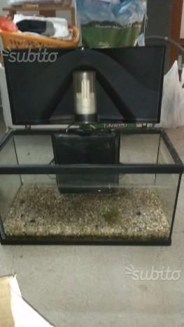 Sera biotop nano cube 60l 60 litri posot class for Acquario 60 litri prezzo