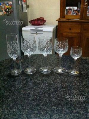 Bicchieri in cristallo di bohemia posot class for Bohemia bicchieri
