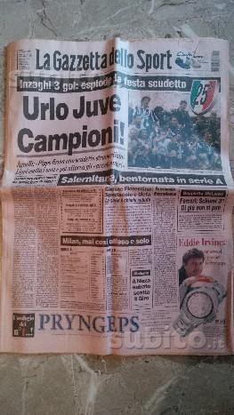 Gazzetta dello sport juve campione