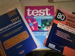Libri per test psicoattitudinali