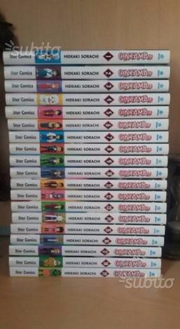 Manga Gintama  nuova edizione Star Comics