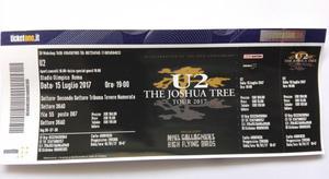 Vendo 1 biglietto concerto U2 Roma 15 Luglio