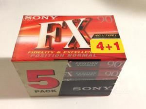 Audio cassette vergini Sony FX 90