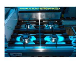 Stufa usata zanussi 6 fuochi con forno e vano posot class for Cucina 6 fuochi zanussi usata
