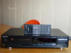 Lettore CD Sony CDP-670 con telecomando