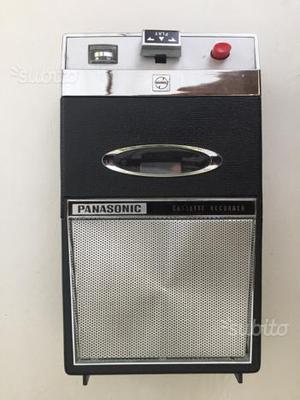 Panasonic registratore cassette