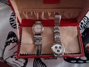 Coppia di orologi