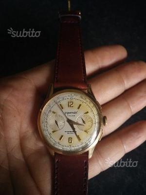 Cronografo in oro 18kt 750