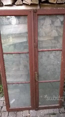 Per arredamenti rustici finestre '900