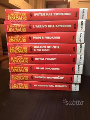 VHS il pianeta dei dinosauri Piero Angela