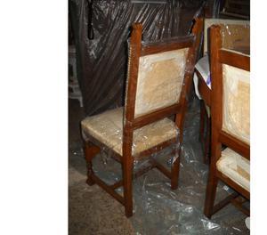 Regalo 6 sedie rivestite in pelle posot class for Sedie in regalo
