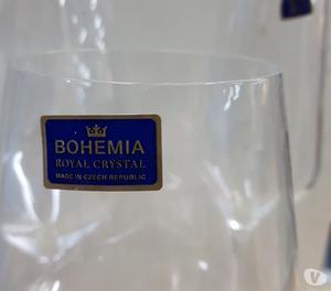 Bicchieri pz. 18 bohemia crist liscio