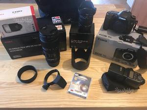 Canon 7D + sigma  F2.8 + Sigma  F2.8 ec