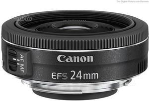 Canon EF-S 24mm f/2.8 STM pancake