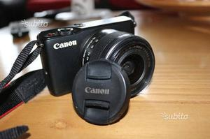 Canon M10 mirrorless in garanzia